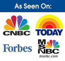 As Seen On CNBC, Today, Forbes, MSNBC