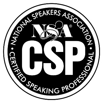 Monica Wofford has earned the Certified Speaking Professional Designation and is one of only 7% of speakers worldwide to hold the designation.