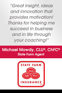 Testimonial from Michael Mowdy at State Farm