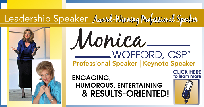 Monica Wofford - An Engaging, Humorous, Entertaining and Results-Oriented Speaker