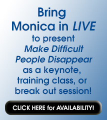 Bring Monica in LIVE