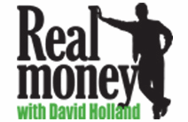 Real Money with David Holland logo