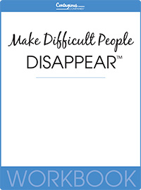 Make Difficult People Disappear™ Workbook Cover